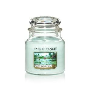 MOYENNE JARRE WATER GARDEN (Jardin acquatique) YANKEE CANDLE
