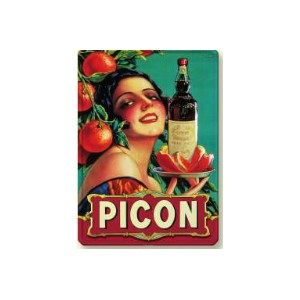 PLAQUE METAL 30x40 CM PICON