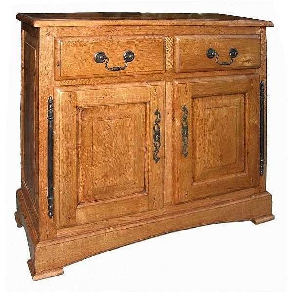 buffet entree bois massif. Black Bedroom Furniture Sets. Home Design Ideas