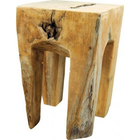 "TABOURET CARRE ""FARMER"""