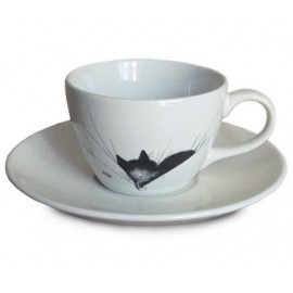 TASSE A CAFE GROS DODO CHAT DE DUBOUT EDITION CLOUET