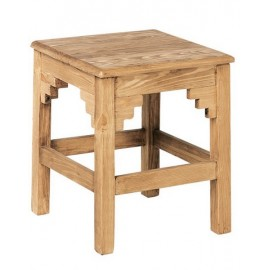 Tabouret pin massif de la collection Brunswick de Casita