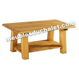 TABLE BASSE BRUNSWICK DOUBLE PLATEAUX DE CASITA