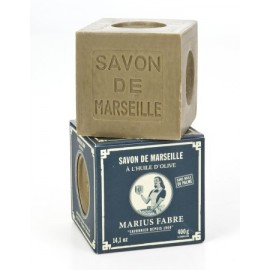 SAVON DE MARSEILLE VERT A L'HUILE D'OLIVE