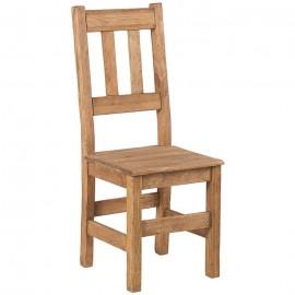 Chaise assise bois - Cottage Casita