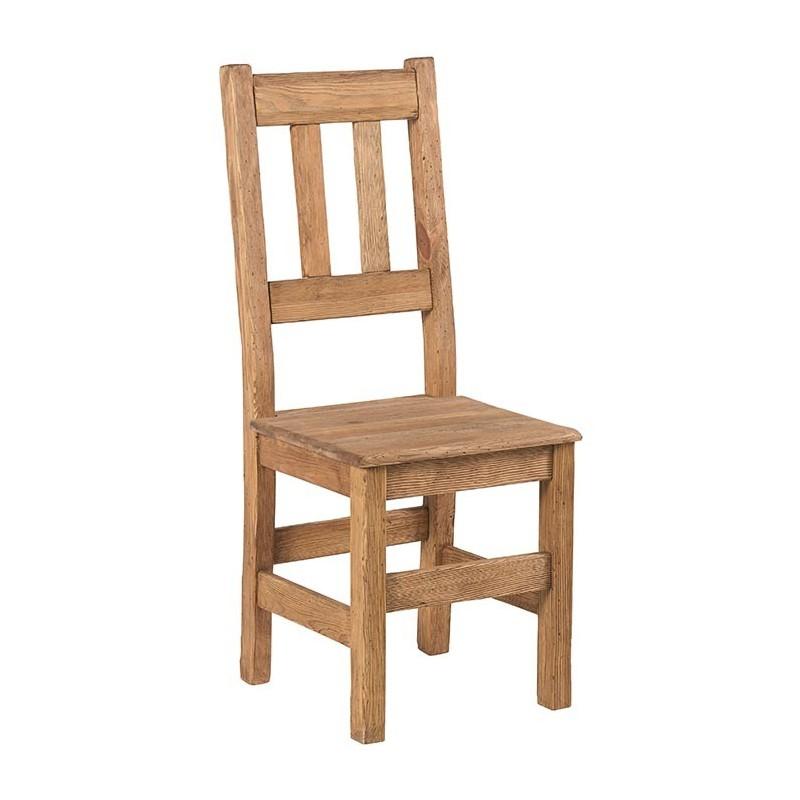chaise assise bois cottage casita. Black Bedroom Furniture Sets. Home Design Ideas