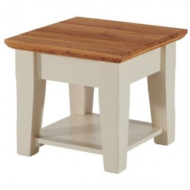 TABLE BASSE CARREE DOUBLE PLATEAU - UPSON CASITA