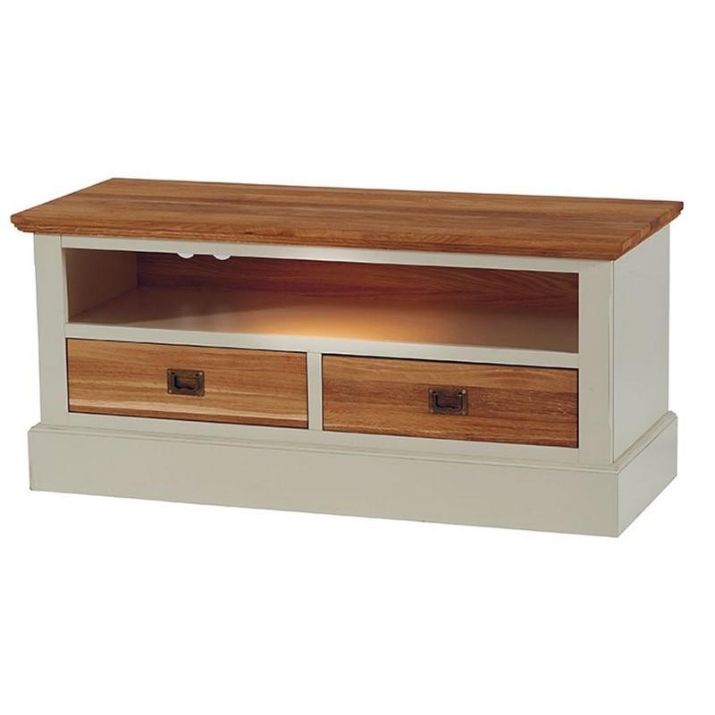 meuble tv niche 2 tiroirs upson casita
