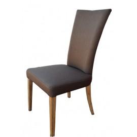 Chaise tissu marron - GBS1948 Zagas