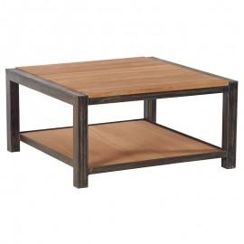 Table basse carrée 2 plateaux - Scott Casita