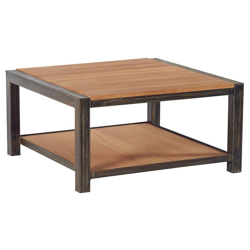 table basse carr e 2 plateaux scott casita. Black Bedroom Furniture Sets. Home Design Ideas