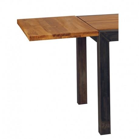 Allonge table rectangulaire 150 et 180 - Scott Casita