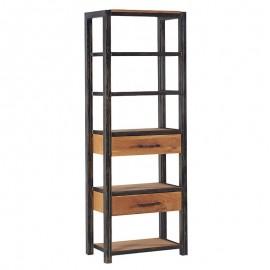 Bibliothèque 2 tiroirs - Scott Casita