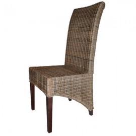 Chaise rotin - Bornéo Casita