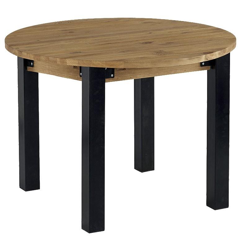table ronde avec allonge lugano casita