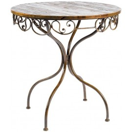 Table ronde pied central Lucy - Casita