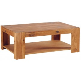 Table basse rectangulaire double plateau - Brake Casita