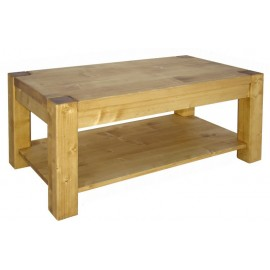 Table basse rectangulaire double plateau - Scandinavia