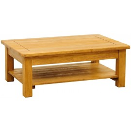 Table basse rectangulaire double plateau - Charolles