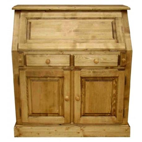 Bureau 2 portes 2 tiroirs 1 abattant - Val Thorens