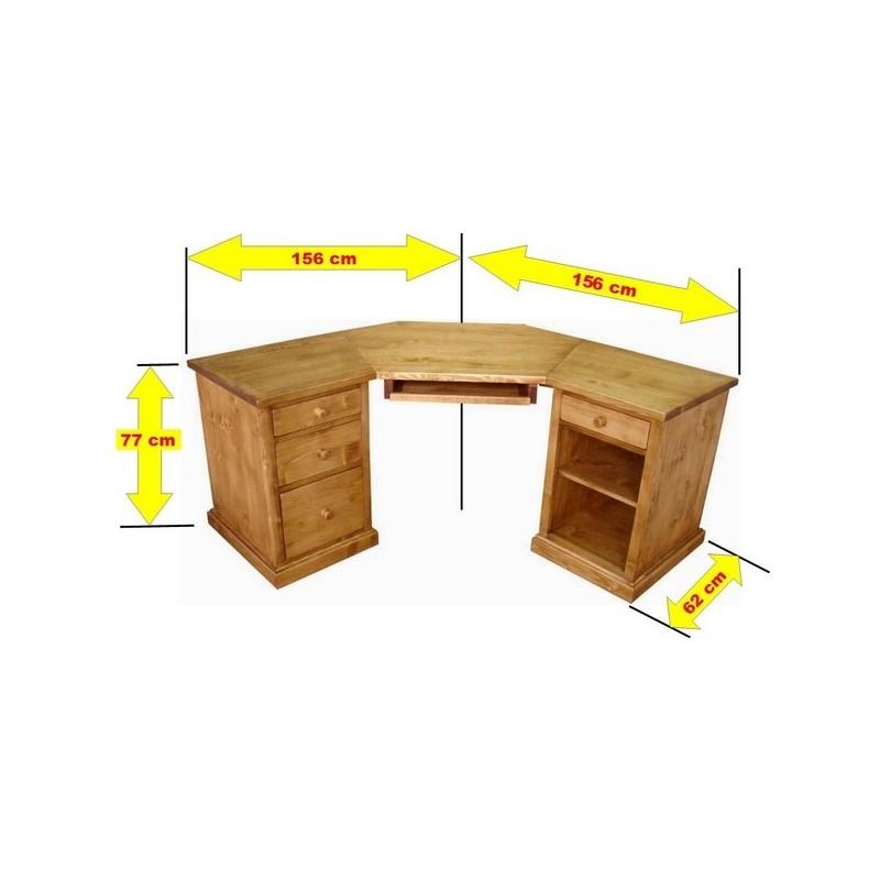Bureau D Angle Ordinateur bureau d'angle informatique - collection val thorens