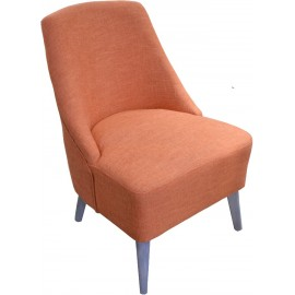 Fauteuil orange - Conrath Sofacasa