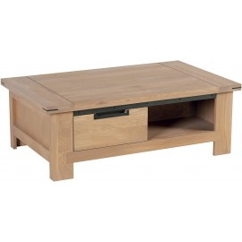 Table basse 1 tiroir 1 niche - Cuneo Casita
