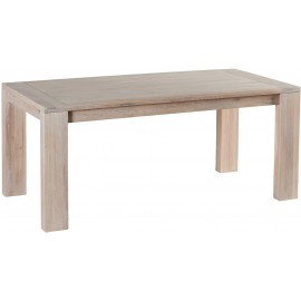 Table rectangulaire chêne blanchi - Manufacture Casita