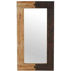 Miroir 150 x 80 cm sapin massif - Fusion Casita
