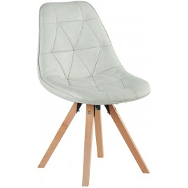 Chaise contemporaine blanche - Chayate Casita
