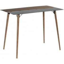 Table mange debout 1m40 sapin et métal - Fusion Casita