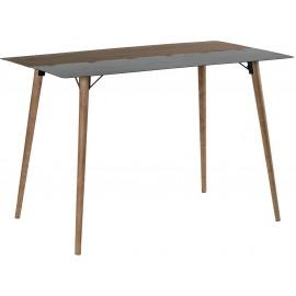 Table mange debout 1m80 sapin et métal - Fusion Casita