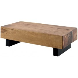 Table basse rectangulaire bois exotique - Apata Casita