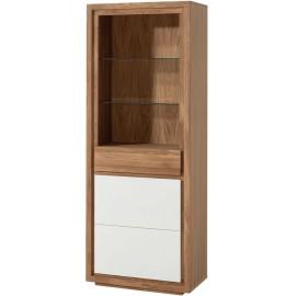 Étagère 1 porte 1 tiroir 2 étagères vitrées - Broome Casita