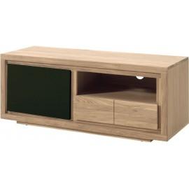Meuble tv 1 porte 1 niche 1 tiroir - Bunbury Casita
