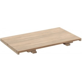 Allonge chêne naturel pour table - Bunbury Casita