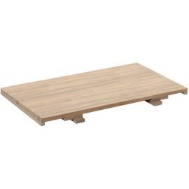Allonge chêne naturel pour table - Bunbury Casita