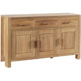 Buffet chêne 3 portes 3 tiroirs - Hasley Casita