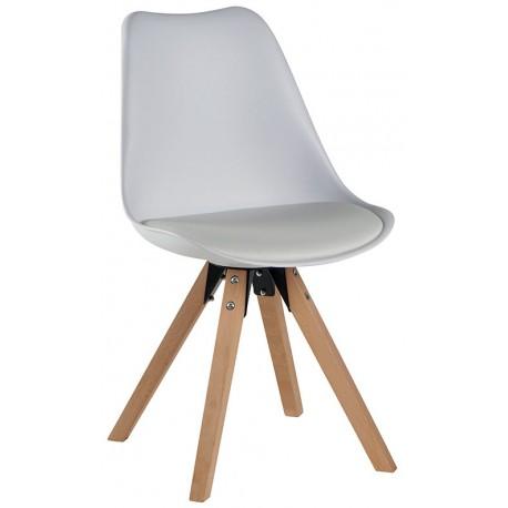 Chaise revêtement blanc - Benny Casita