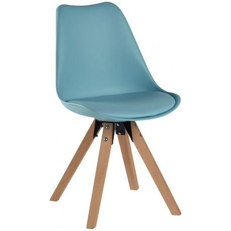 Chaise revêtement bleu - Benny Casita