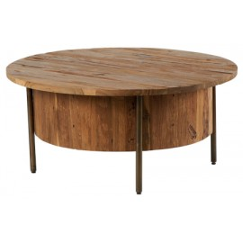 Table basse teck recyclé - Zinia Casita