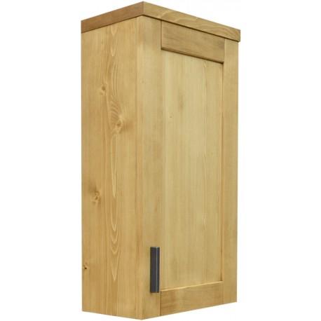 Meuble haut de salle de bain 1 porte à suspendre