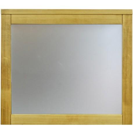 Miroir de salle de bain 80 x 70 cm épicéa massif