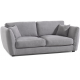Canapé 3 places tissu gris - Soring Casita
