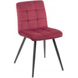 Chaise revêtement bordeaux - Franklin Casita