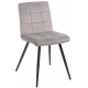 Chaise tissu gris - Franklin Casita