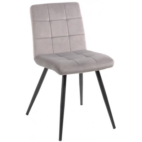 Chaise tissu gris - Franklin Casita
