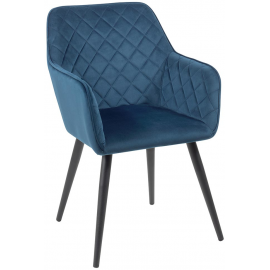 Fauteuil revêtement bleu - Corck Casita