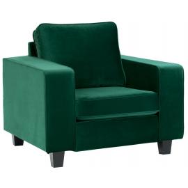 Fauteuil coloris vert - Zoom Sofacasa Casita