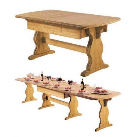 TABLE MULTI - ALLONGES